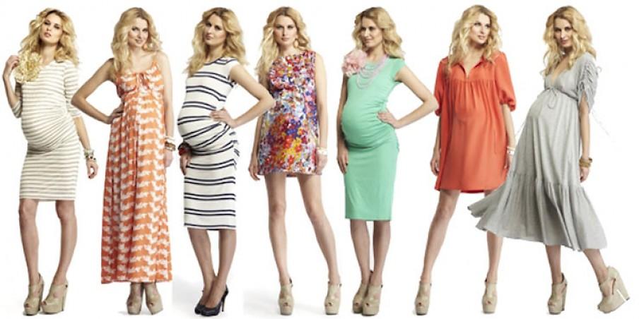 Мода для беременных новые